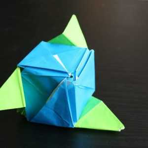 Hoe om te maak `n Origami Magic Rose Cube